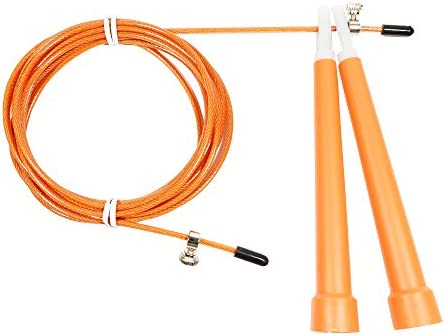 FoRapid Premium Speed Jump Rope for Crossfit Boxing MMA Double Unders WOD Skipping Workout Fitness product image