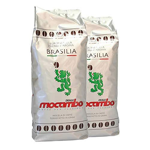 2x Mocambo Brasilia 2x 1kg Bohne