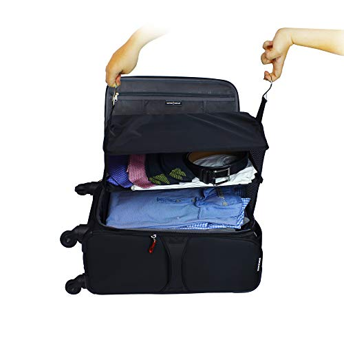 Hanging Travel Packing System Luggage Cube OWNFUN Portable Luggage Organizer