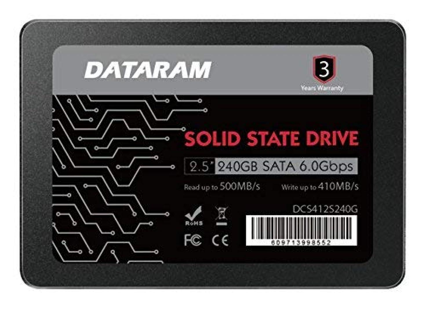 時折プロジェクター学士DATARAM 240GB 2.5