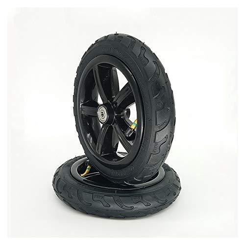 SUIBIAN Elektro-Scooter Reifen, 8-Zoll 8X1 1/4 Anti-Rutsch-Reifen-Räder, Geeignet für explosionsgeschützte Vollreifen und Luftreifen für Kinderwagen/Elektro-Scooters,A2