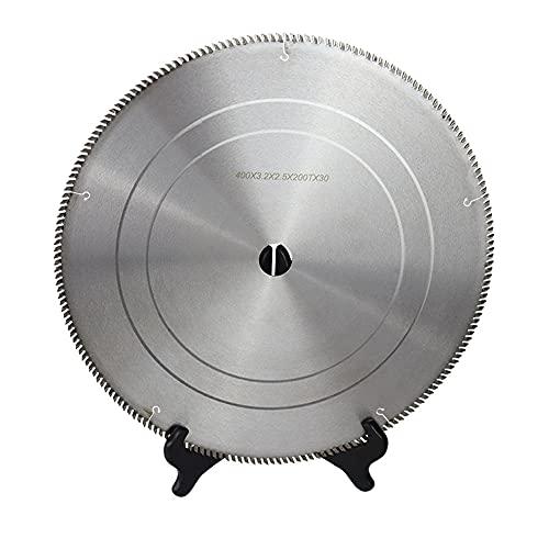Hoja sierra circular Hojas de sierra de acero aleado Hoja sierra circularTCT 400mm x 3.2mm x 2.5mm x 200T x 30mm por madera Discos de corte circulares Hoja sierra circular