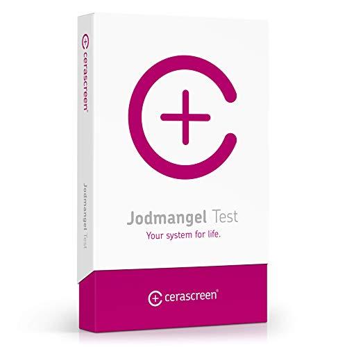 Jodmangel Test Kit von cerascreen – Jodspiegel schnell & einfach per Selbsttest von Zuhause bestimmen I Zertifiziertes Labor I Detaillierter Ergebnisbericht