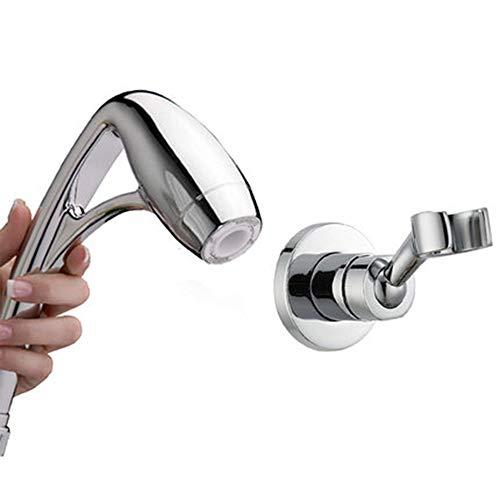 VAST Handheld douchekop, zilverkleurig met aluminium Rame Punch Libero waterdruk Showerhead 117