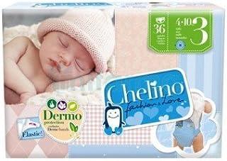 Pañal Chelino Fashion & Love Talla 3 36 uds