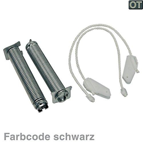VIOKS Seilzug Feder Türscharnier Reparatursatz für Spülmaschine Geschirrspüler passend wie Bosch Balay Neff Siemens 00754869