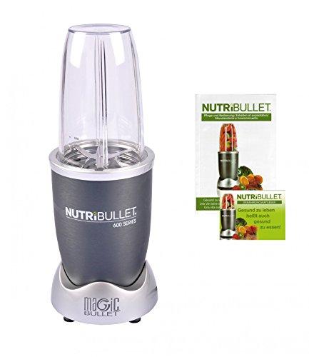 NutriBullet NB5G Smoothie Maker, Edelstahl, Grau