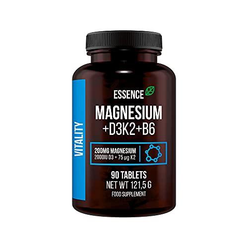Essence Nutrition Magnesio + D3K2 + B6-90 comprimidos 150 g