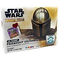 24-Count Star Wars Mandalorian Valentine's Day Friendship Exchange Lollipops (4.23oz)