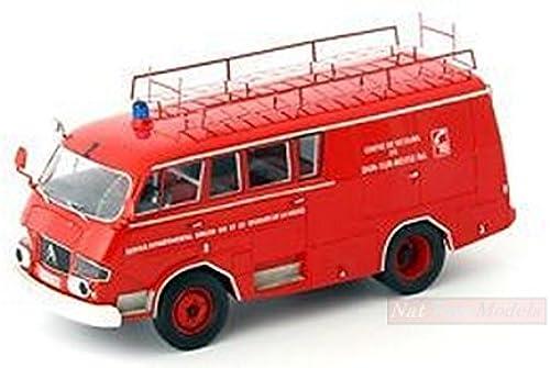 AUTOCULT ATC12002 CITROEN TYP 350 BELPHEGOR FEUERWEHR 1966 1 43 DIE CAST MODEL