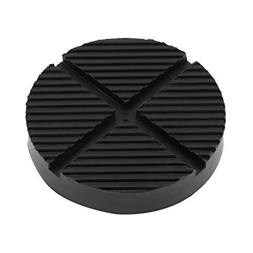 Aramox Wagenheber Gummiauflage Jack Pad, 125mm Gummi Auto LKW Kreuzschlitzrahmen Schiene Boden Jack Disk Pad Adapter Tool