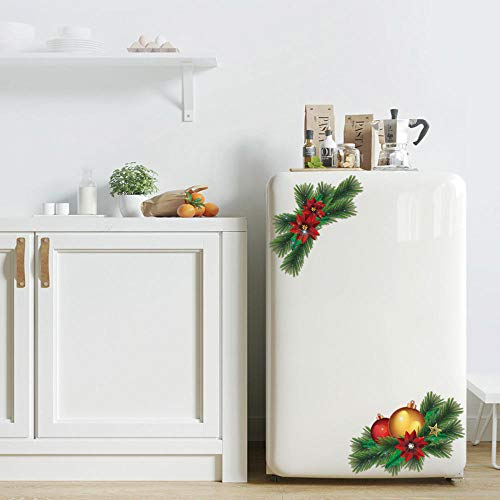 Kerstboom 3D muursticker koelkast sticker kledingkast badkamer decoratie PVC wandtattoos/lijm T D