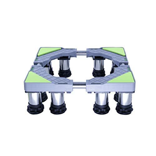 Soporte para Lavadora Prueba de choques a Prueba de Humedad Pedestal frigoríficos para Bastidor Inferior Largo/Ancho 45-65cm Soporte para lavavajillas doméstico altura 14-17cm