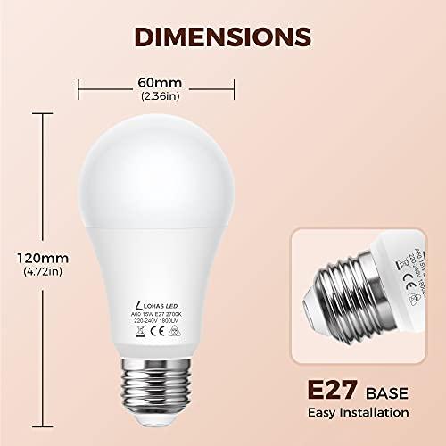 LOHAS-LED LH-QP101-E27-2700K-4