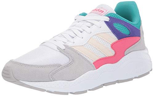 adidas Women's Chaos Walking Shoe, White/Ecru Tint/Grey, 7 Medium US