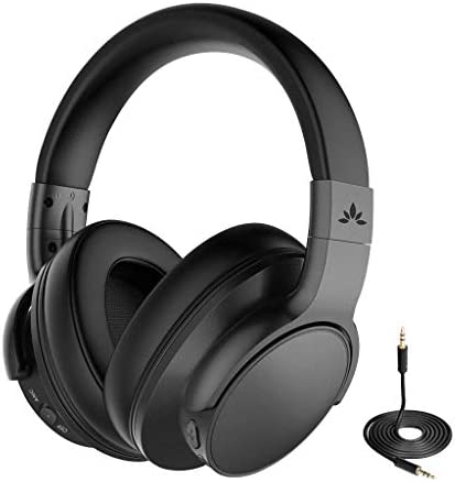 Avantree ANC031 Active Noise Cancelling Headphones Over Ear with Microphone for Home Office product image