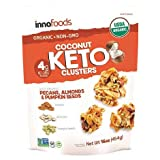 Coconut Keto Clusters with Organic Pecans, Almonds & Pumpkin Seeds Pack of Two