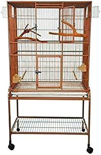 King's Cages Superior Line Extra Large Flight Cage SLFXL 3221 Parrot CAGE 32x21x62 Bird Toy Canary Finch Parakeet Sugar Glider