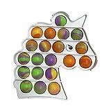 FUNYIN Fidget Toys, Fidget Stress Reliever Toys para el Autismo ADHD Necesidades especiales, Fidget Sensory Toy Push Bubble para niños adultos