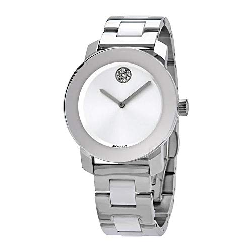 Bold Ceramic Quartz Ladies Watch - Movado 3600638