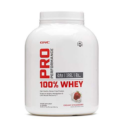 gnc protein shakes GNC Pro Performance 100 Whey - Creamy Strawberry