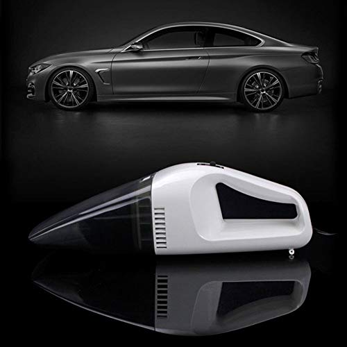 YSHtanj Auto-Staubsauger für Elektrogeräte, 60 W, 12 V, Handgerät, Nass/Trocken, Dual-Verwendung, geräuscharm, für Auto und Zuhause, Staubsauger