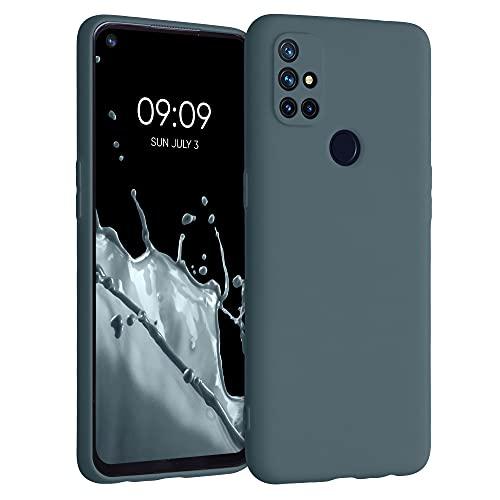 kwmobile Hülle kompatibel mit OnePlus Nord N10 5G - Hülle Handyhülle - Handy Hülle in Slate Gray