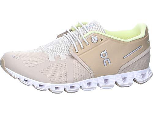 On Running W Cloud Beige, Damen Laufschuh, Größe EU 40.5 - Farbe Sand - Pearl