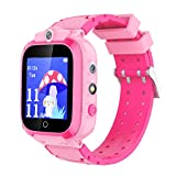 CMKJ Kids Smartwatch with Dual Camera 14 Games, Watch for Children with MP3 & MP4 Player, Touchscreen Gaming Watch Gift for 2-13 Years Old Girls and Boys, with Memory Card & Screen Protector