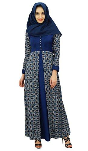 Bimba Womens Muslim Maxi Abaya Dres…