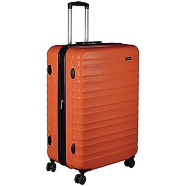 AmazonBasics Hardside Spinner Luggage -  28-Inch, Orange