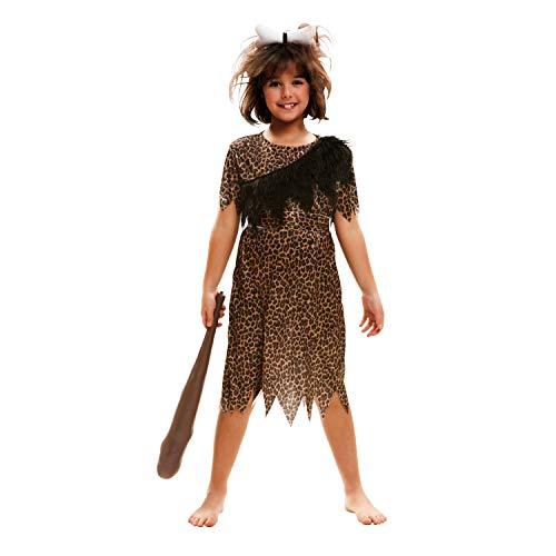 My Other Me Me-201126 Disfraz de troglodita aventurera para nia, 10-12 aos (Viving Costumes 201126)