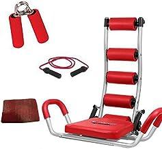 جهاز تويستر مع حبل القفز وأداة تمرين القبضة والرسغ من ايه بي روكيت (لون أحمر)