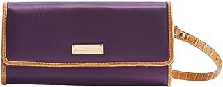 Samantha Brown RFID Women's Small Clutch Wallet - Purple