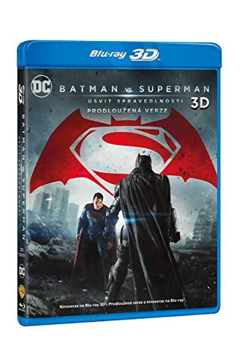 Batman vs. Superman: Usvit spravedlnosti (3Blu-ray 3D+2D+2D prodlouzena verze) (Batman v Superman: Dawn of Justice) (Versione ceca)