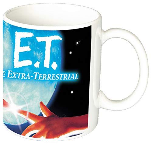 MasTazas E.T. El Extraterrestre ET The Extra-Terrestrial A Taza Ceramica 11 oz ≈ 325 ml