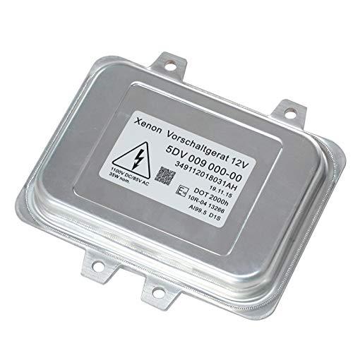 Yikesai 5DV 009 000-00 Xenon Hid Headlight Ballast Control Unit Replacement for 2007-2014 Cadillac Escalade & 2006-2009 BMW E60 & 2008-2014 Ch r ysl er Town Country (5dv 009 000-00)