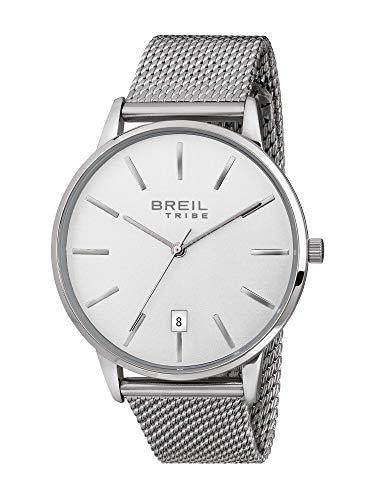 Reloj Breil colección Avery Only Time Movimiento - 3h de Cuarzo y Acero Mesh para Hombre