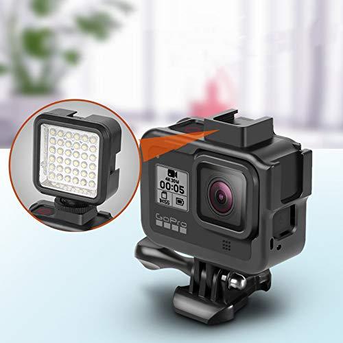 XuBa Camera Beschermend Frame voor Go=pro Hero 8 Zwart Actie Aluminium Metalen Case Behuizing Shell Volledige Lichaamsbescherming