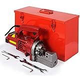 Happybuy Electric Hydraulic Rebar Cutter, 1250W Portable Electric Rebar Cut 3/4'(20mm) #6 Rebar within 4 Seconds, 110V