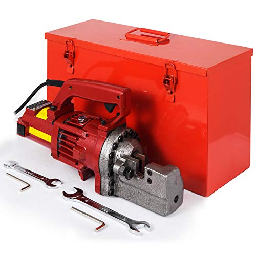 Happybuy 1250W Electric Hydraulic Rebar Cutter 3/4