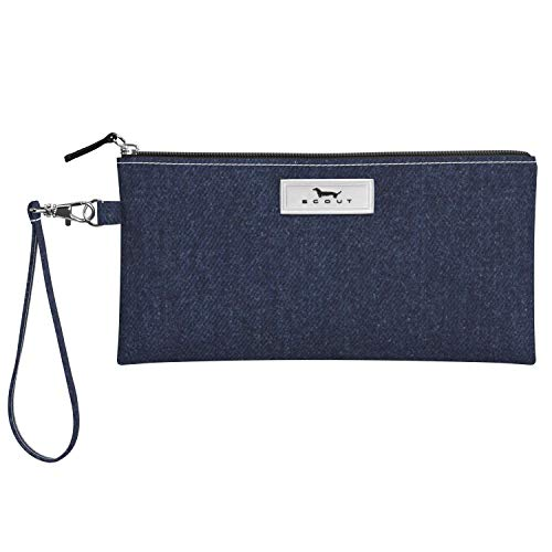 SCOUT Kate Wristlet, Lightweight Wristlet Wallet for Women, Small Clutch Wristlet with Strap in our Denim Pattern (Multiple Patterns Available)