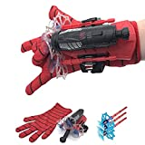 XTONG Hero Soft Rubber Bullets Jet Wrist Toy, Hero Launcher Wrist Toy Set,Cosplay Spider Web Slinger 15 * 7.5 * 6cm A
