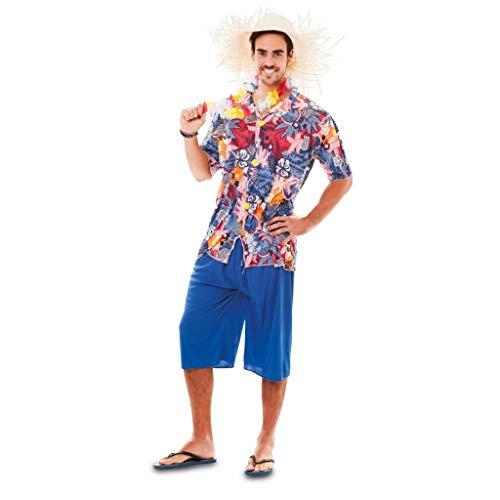 Fyasa Disfraz hawaiano para niños de 12 años, multicolor, Large 701808-T04