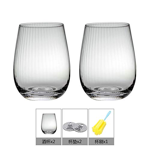Bicchiere da whisky giapponese, in vetro twill giapponese, per...