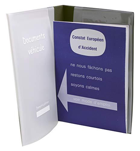 AUXENCE - Porta Documentos de vehículo (Funda de Almacenamiento, Cuaderno de Mantenimiento,...