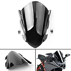 Improve the aerodynamics of your motorcycle and deflect more wind to provide relaxing and safe ride for driver. Enhancing the design of your motorcycle Aftermarket parts, for modify use Fitment:for KTM 390 RC390, 2014-2019 Free Shipping, but 25-30 bu...