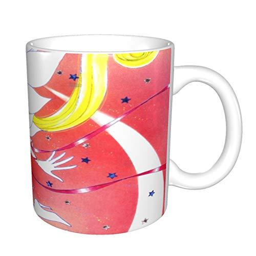 Sailor Moon - Taza de café divertida, talla única, multicolor