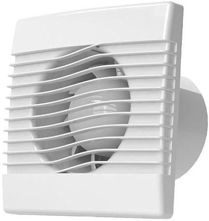 Calidad pared baño extractor de cocina 150mm ventilador con temporizador prim ventilador