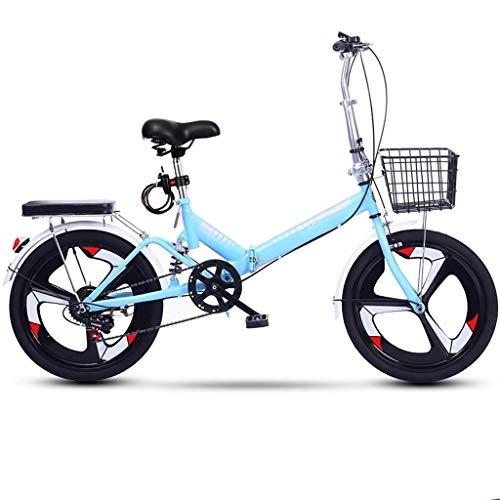 Variable Speed para mujer bicicleta plegable bicicletas, ruedas de 20 pulgadas, para mujer bici del crucero de la bici del oso alrededor de 250 Libras Mujeres adecuados para adultos y jóvenes,02